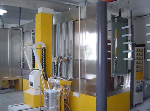 High Quality Powder Coating Electrostatic Spray Painting Room