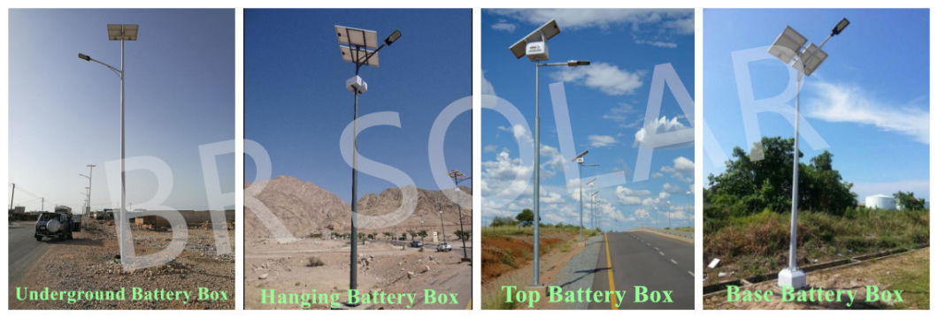 New Product 30W-120W Solar System with LED Light