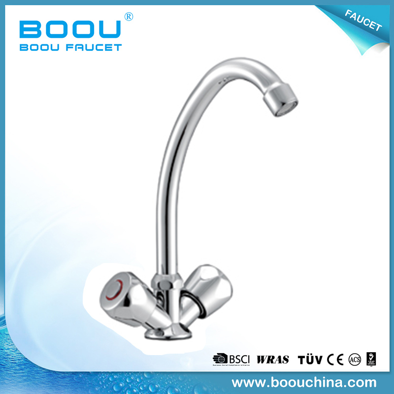 (BQ5328-8) Boou Double Handle Kitchen Basin Faucet