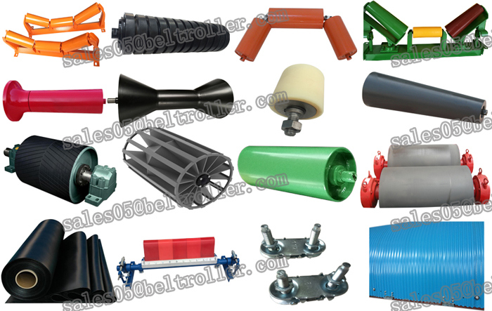 Conveyor Rubber Lagging Tape Impact Idler Roller with High Quality