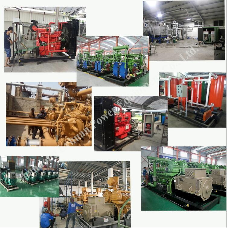 Kw Generator for Natural Gas Biogas Coal Gas LNG CNG LPG