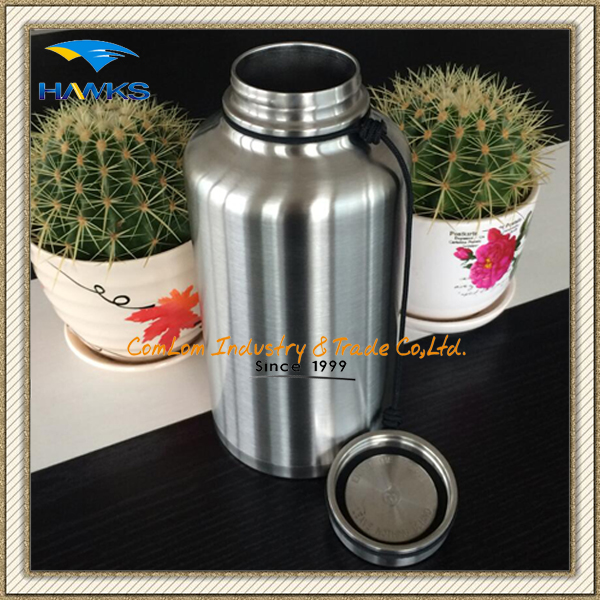 1.8L Stainless Steel Vacuum Water Bottle/ Travel Bottle