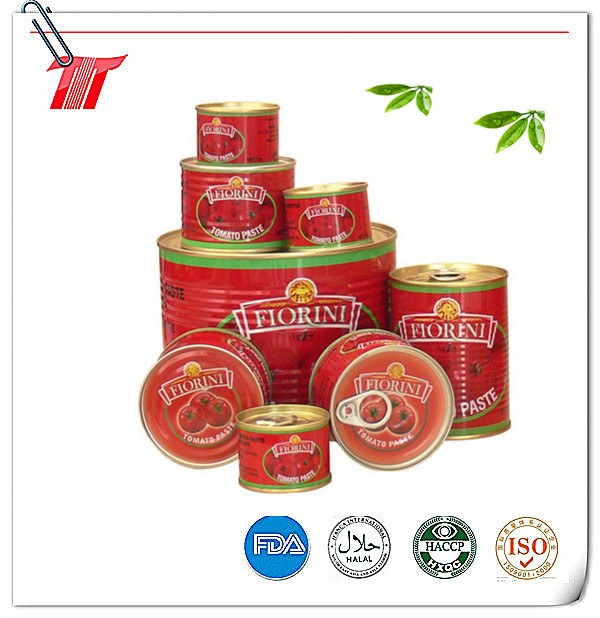 Tomato Paste of 830g Canned with Fiorini Brand