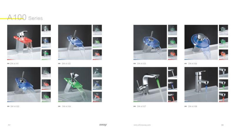 Single Handle LED Basin Mixer