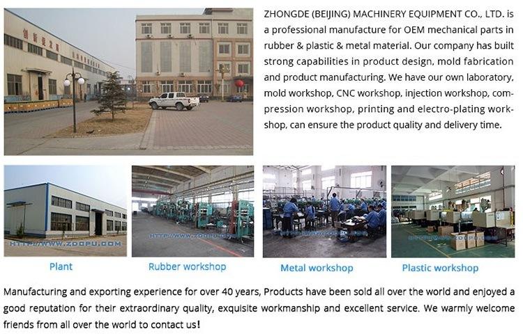 OEM Heavy Duty Polyurethane PU Rubber Coated Industrial Trolley Caster Wheel