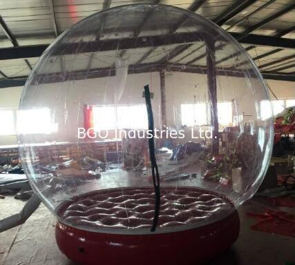 Inflatable Bubble Show Ball Exhibition Tent