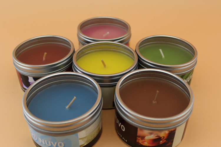 Candle Scented in Matal Tin