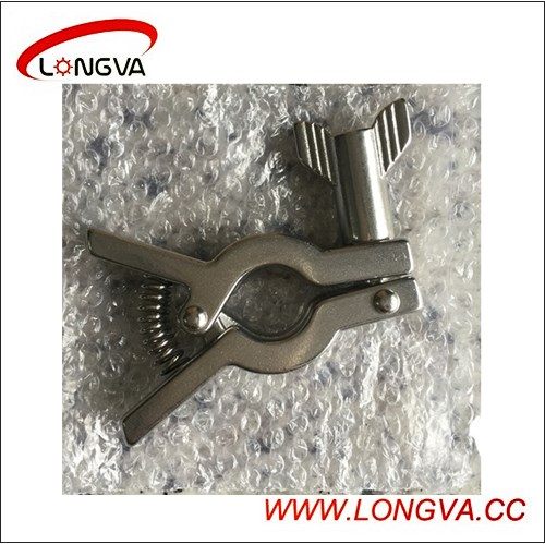 Wenzhou Manufacturer Ss304 Clamp with Spring