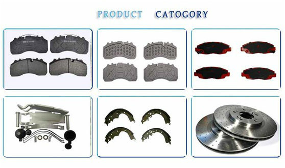 China Manufacturer Anti-Wear Truck Brake Pads and Accessories for Mercedes-Benz