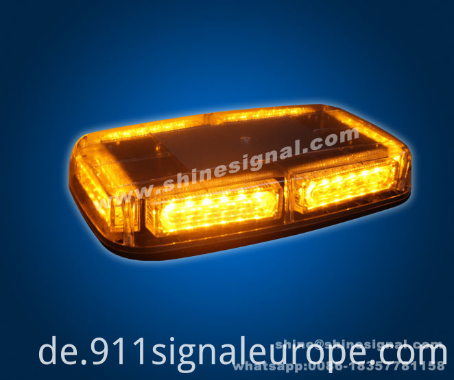 M139 LED Strobe Mini Warning Emergency Lightbar with Magnet Mounted