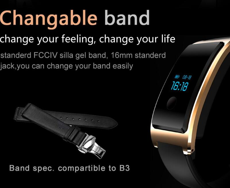Smart Watch Android Waterproof Built -in USB Wechat Interconnection Heart Rate Monitor The Bluetooth Sleep Monitoring Super - Long Standy