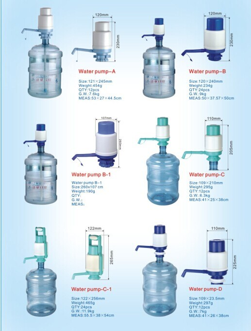 Hand Press Drink Water Pump for Water Dispenser