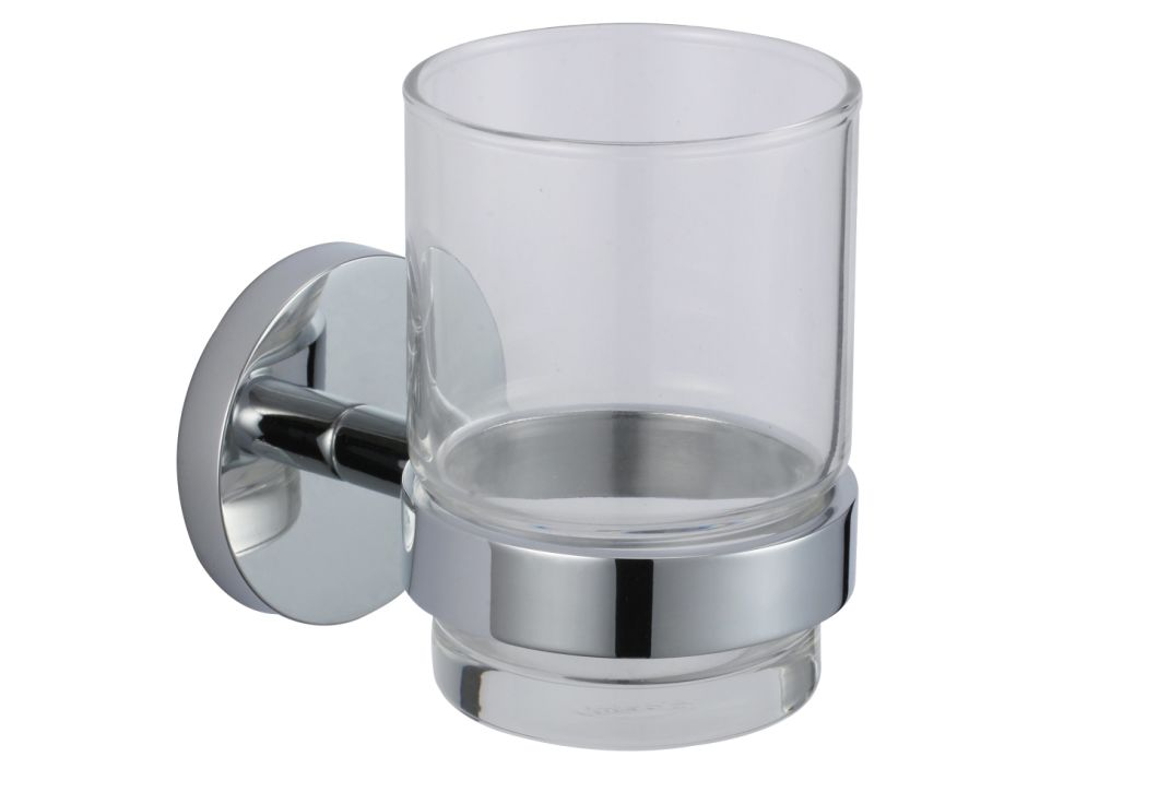 Wall Mount Hotel Price Bathroom Accessories Toothbrush Cup Holder 3061f