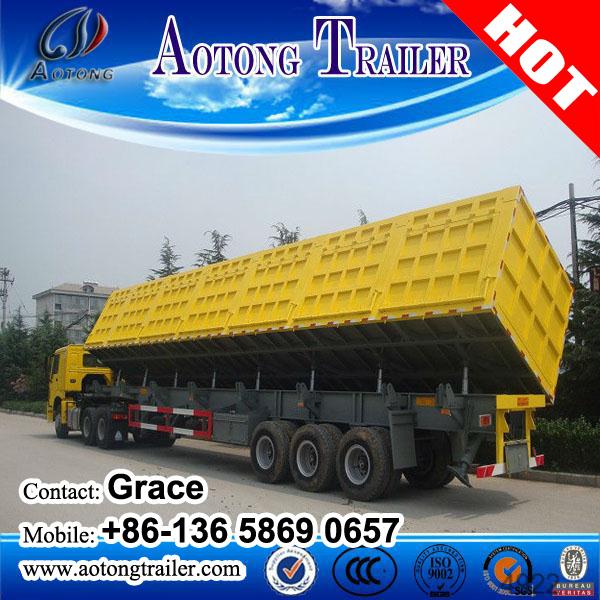 China Factory Dump Truck Semi Trailer, Dumper Tipper Tipping Trailer for Sale