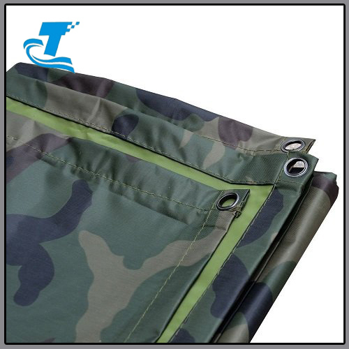 Unisex Camouflage Rain Poncho for Outdoor Activities