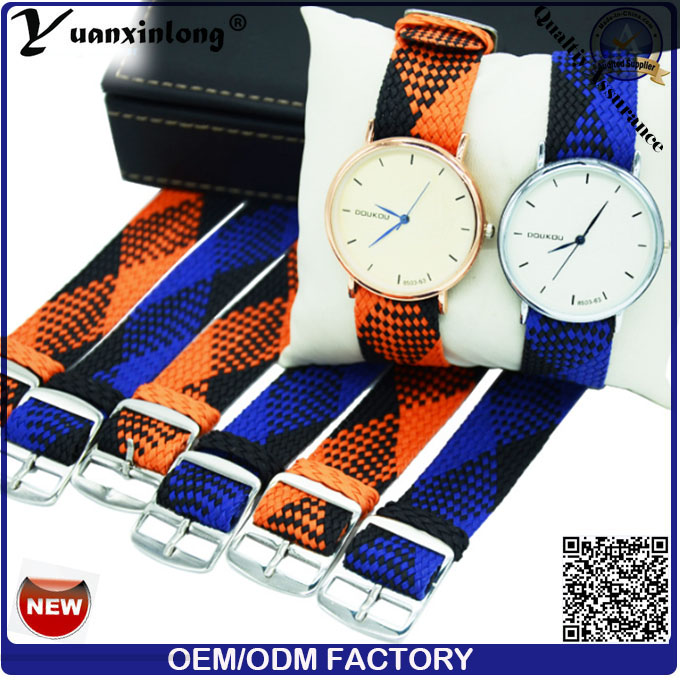 Yxl-037 Promotional Hot Selling Perlon Watch Strap Men Women Watch Wristband Custom Logo Factory Wholesale Perlon Strap