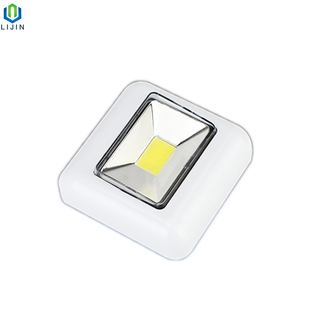 Multi-Function LED Wardrobe Light Cabinet Lamp Portable Small Night Lamp