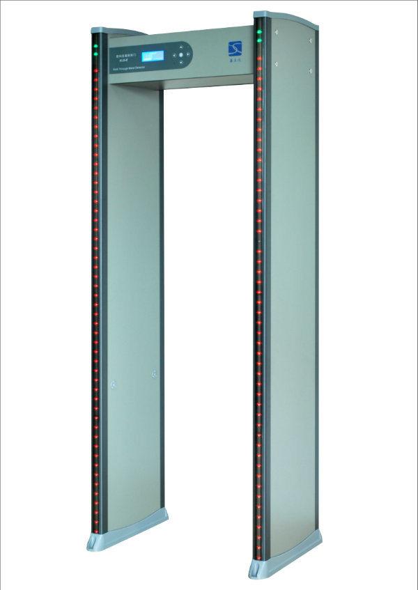 18 Zones Door Frame Archway Walk Through Metal Detector