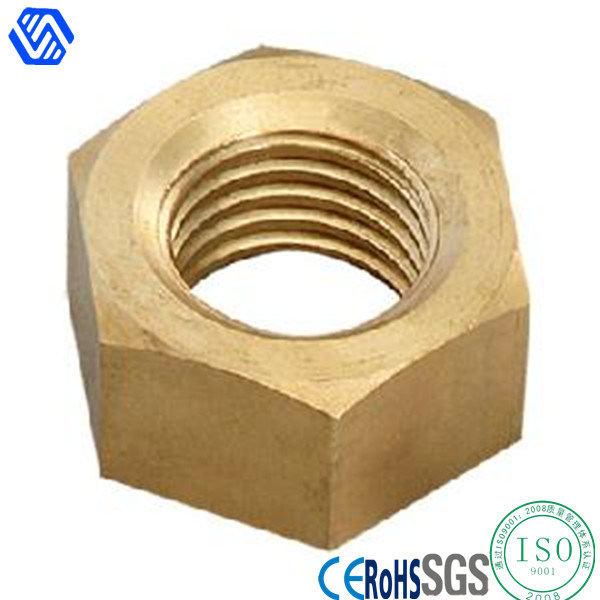 Custom Hexagonal Brass Copper Nut