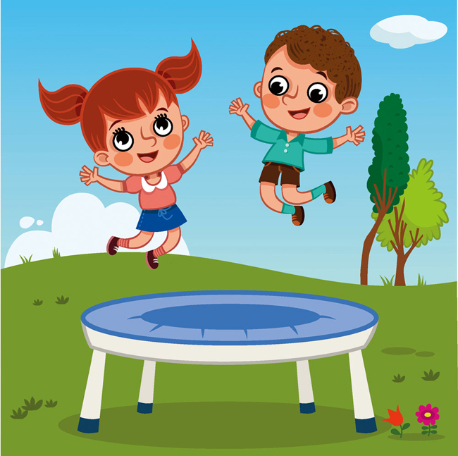 China Professional Trampoline for Kids and Indoor Children Trampoline