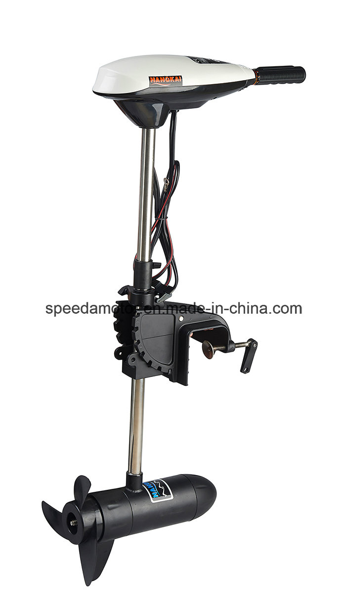 Saltwater 45lbs Thrust Electric Outboard Trolling Motor for Boat