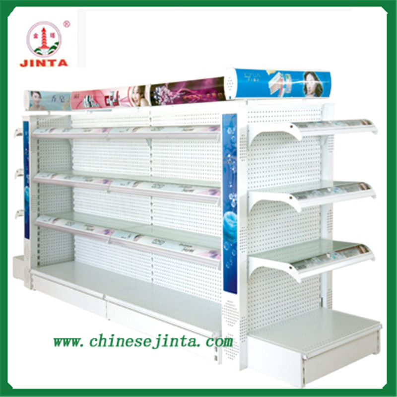 Skincare Products Display Rack in Supermarket (JT-A45)