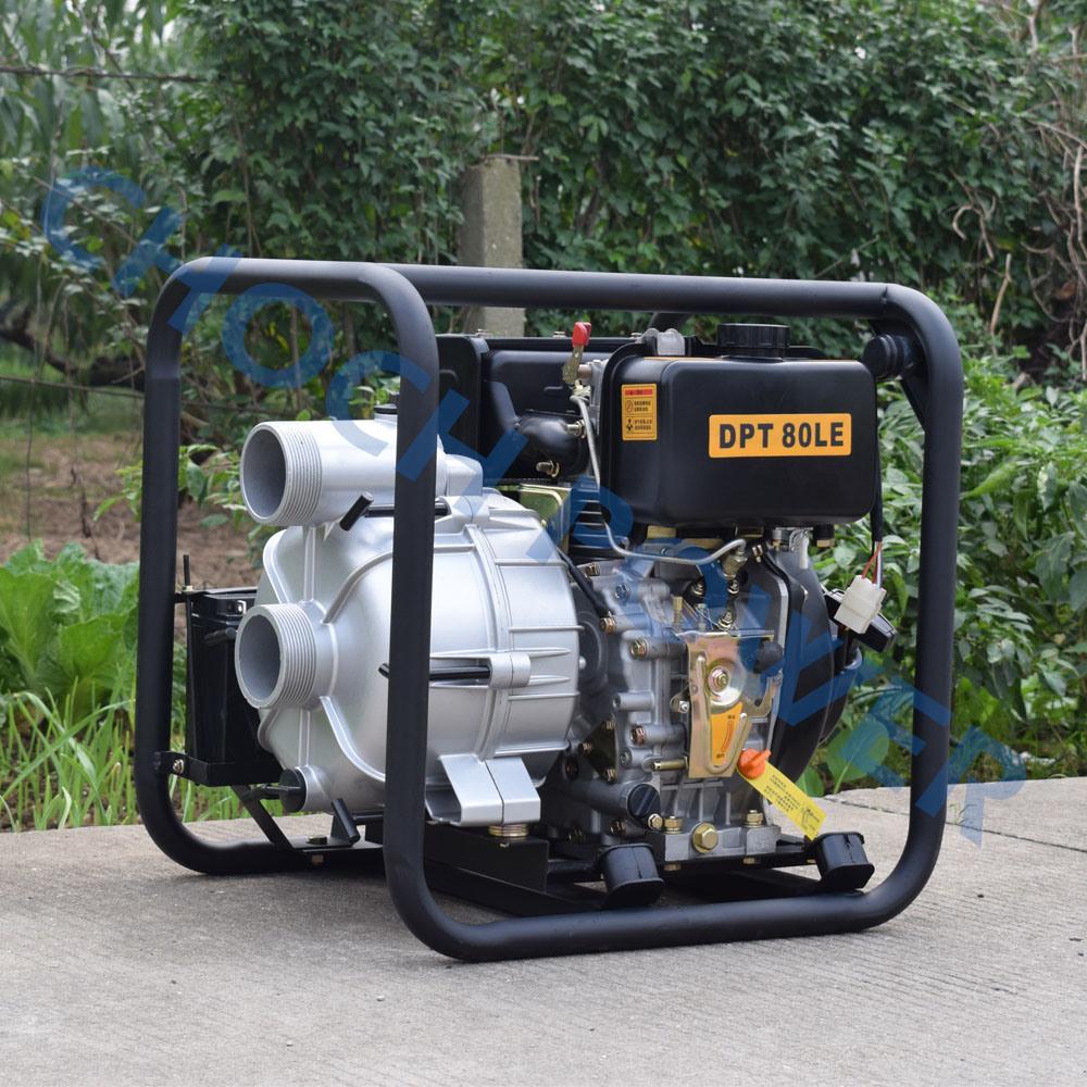 Diesel Trash Water Pump / 3 Inch Trash Water Pump (DPT80)