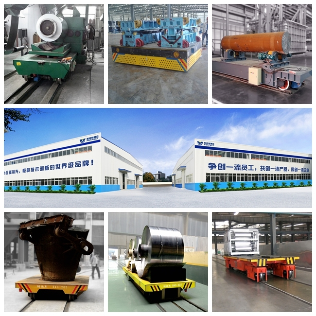 Custom Engineered Material Handling Solution Electric Flatbed Truck Cart