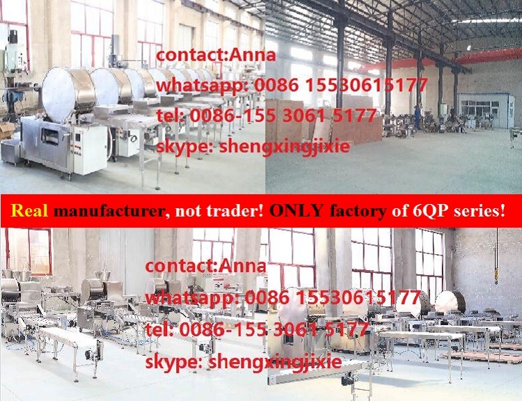 Auto High Quality/Capacity Gas/ Ele Pancake Machine/ Thin Pancake Machinery/ Flat Pancake Machine (manufacturer)