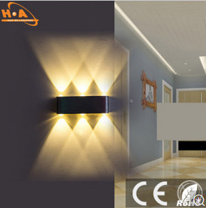 IP33 Two Light Color Modern Bar Wall Lamp