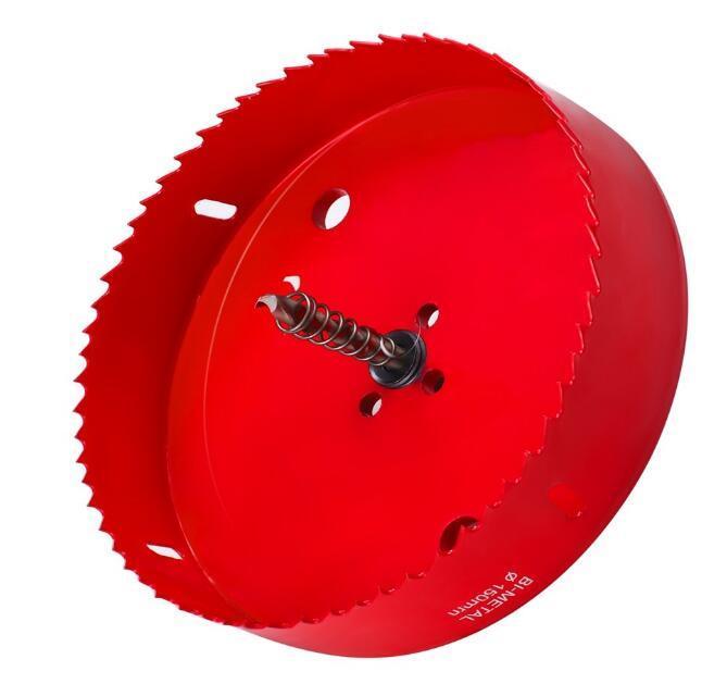 Сверхмощная стальная биметаллическая кольцевая пила для резки железа, металла и меди