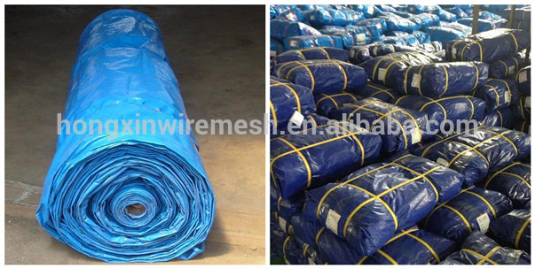 tarpaulin roll bundle packing
