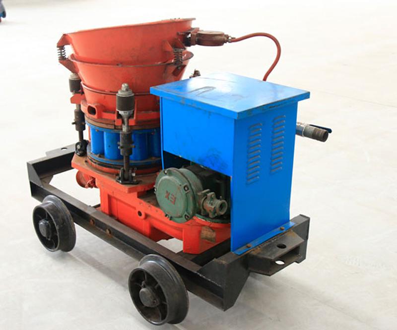 Construction Mining Tunneling Pz-5 Dry Mix Concrete Shotcrete Gunite Machine