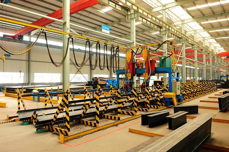 Easy Assembled Prefab Construcion Workshop Frame Steel Hangar