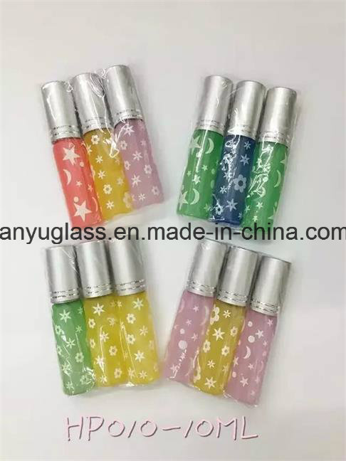 Cylinder Deodorant Glass Bottle Roll on Perfume Bottle