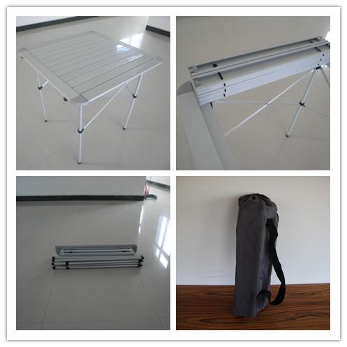Topsales Aluminum Light Weight Picnic Outdoor Folding Table (QRJ-Z-002)