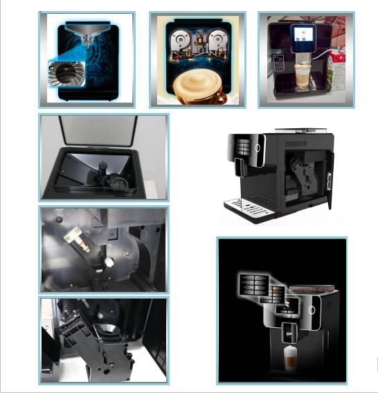 Commercial Automatic Espresso Machine