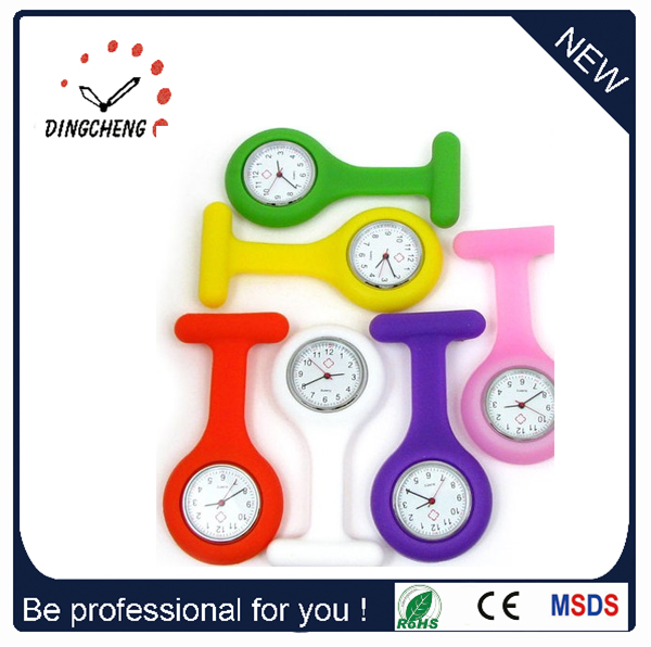 Hospital Doctor Gifts Fob Nurse Silicone Watch (DC-1137)