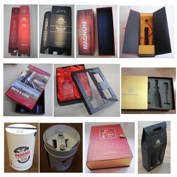 Wholesale Custom Delicate Garment Packaging Gift Paper Box