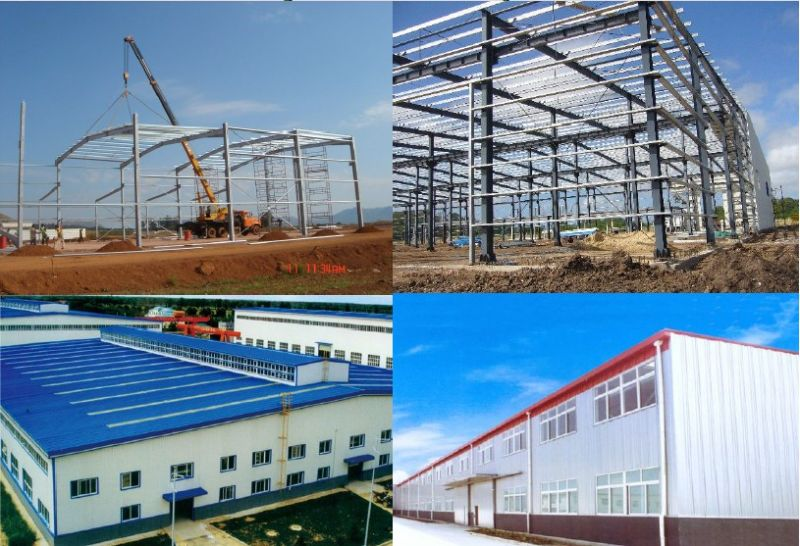 High Quality and Large Span Modern Quality Prefab Steel Workshop