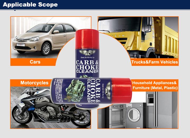 Supply OEM Car Carb Cleaner Carburetor Cleaning Spray