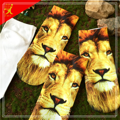 2015 Cute Animal Pattern 3D Print Sock