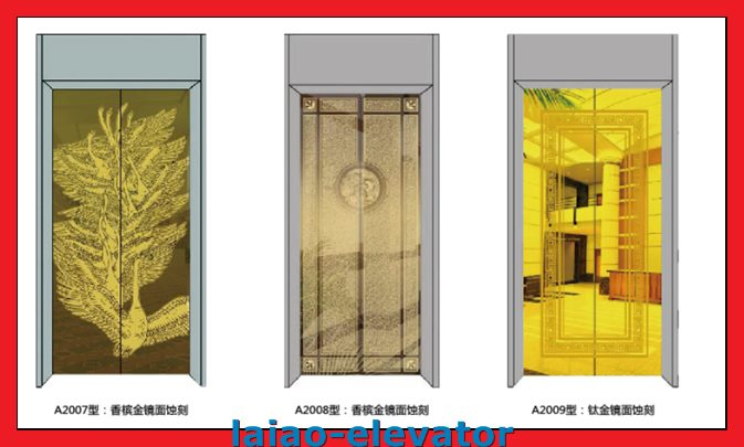Low Noise Observation Elevator Lift with Sightseeing Glass
