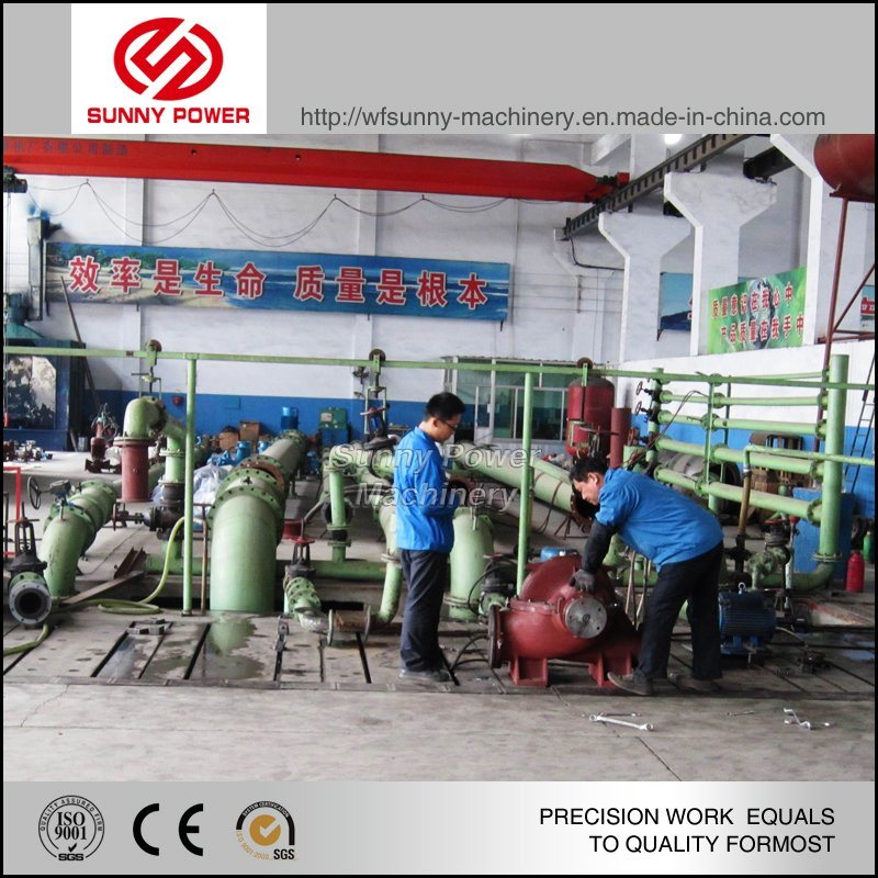 8inch Self Priming Diesel Water Pump Outflow 400m3/H