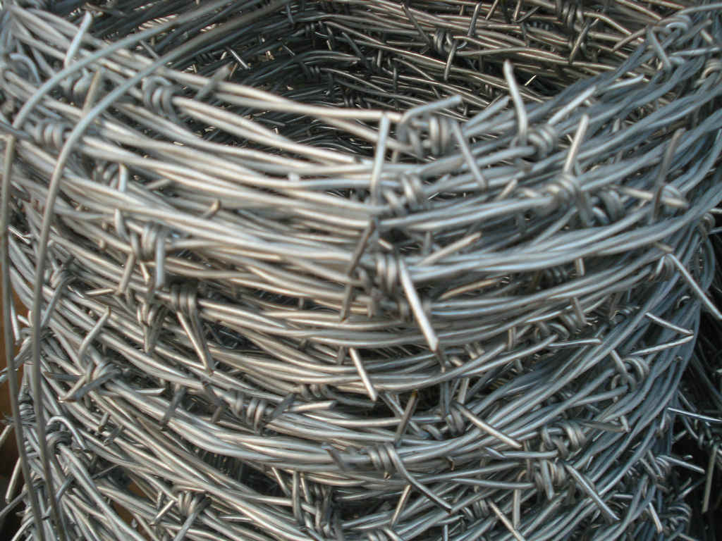 Hotsales Galvanized or PVC Barbed Iron Wire