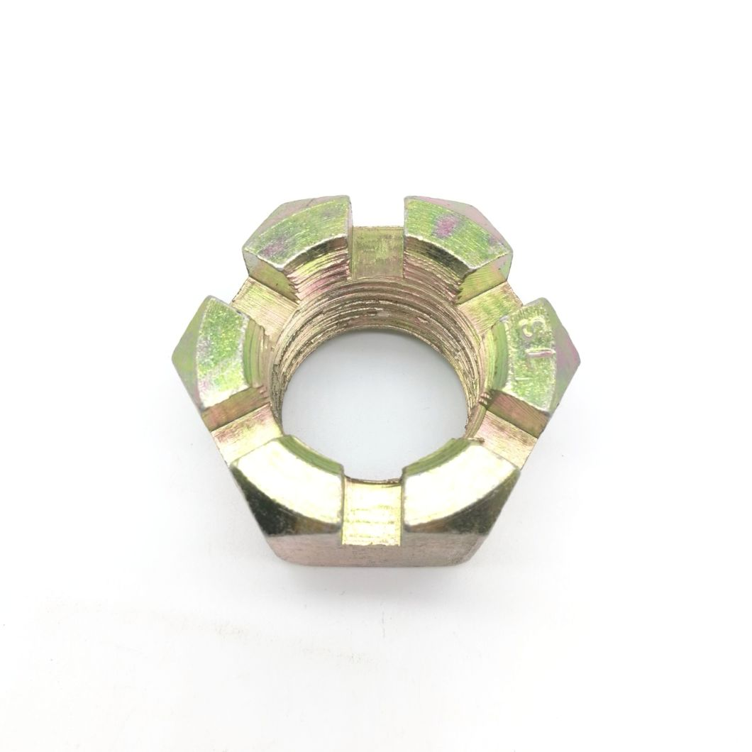 ANSI/ASME Hex Thick Slotted Nuts with Fine Pitch Thread