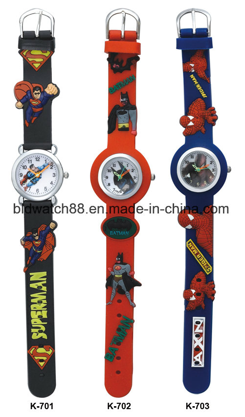 Promotion Analog Kids Cartoon Watch for Gift