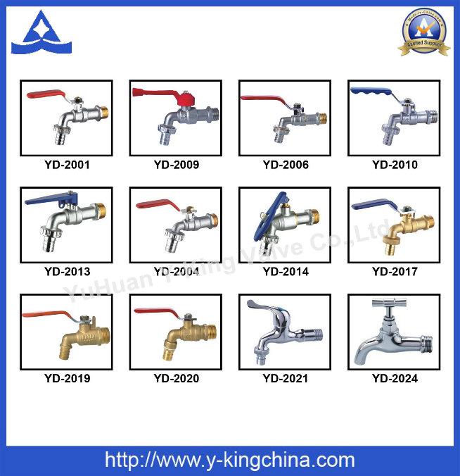Brass Washing Machine Hose Bib Tap (YD-2004)