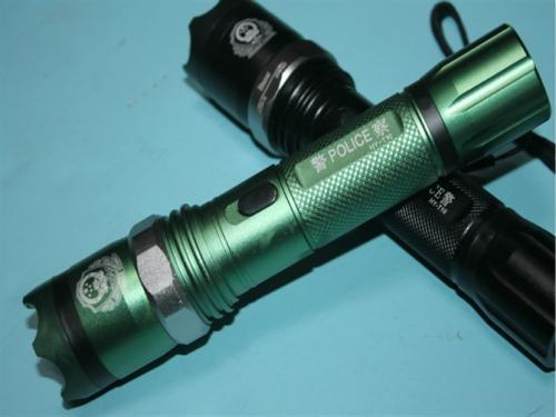 Riot Tactical Flashlight Stun Gun T10