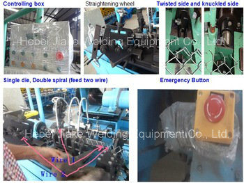 High Production Fully Automatic Chain Link Fence Machine